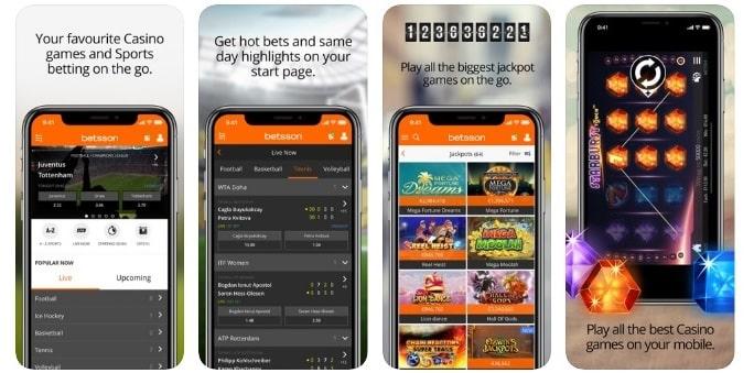 Betsson Casino Mobile